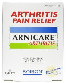 Boiron Arnicare Arthritis Pain Relief, 60 tablets