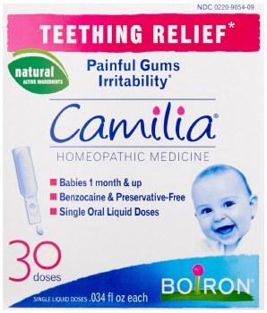 Boiron Camilia Teething Relief, 30 liquid doses