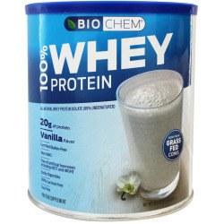 Bio Chem Vanilla Flavor 100% Whey Protein, 30.2 oz.