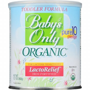 Baby's Only Organics Organic LactoRelief Toddler Formula