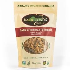 Back Roads Granola Gluten Free Dark Chocolate Pecan Granola, 12 oz.