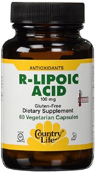 Country Life R-Lipoic Acid, 60 vegetarian capsules