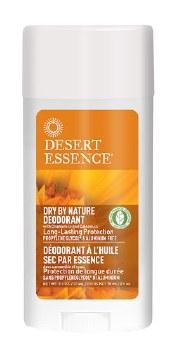 Desert Essence Dry By Nature Deodorant, 2.5 oz.