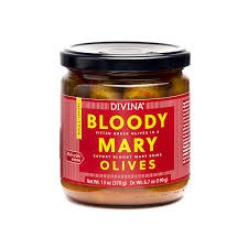 Divina Bloody Mary Olives, 6.7 oz.