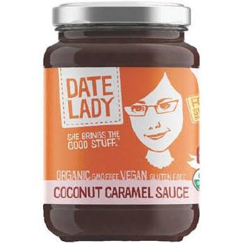 Date Lady Organic Coconut Caramel Sauce, 11 oz.