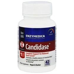 Enzymedica Candidase, 42 vegan capsules