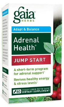 Gaia Herbs Adrenal Health Jump Start, 60 vegan liquid phyto-caps