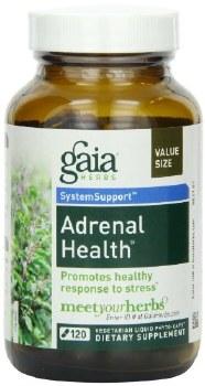Gaia Herbs Adrenal Health, 120 vegetarian capsules