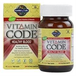 Garden of Life Healthy Blood, 60 vegetarian capsules