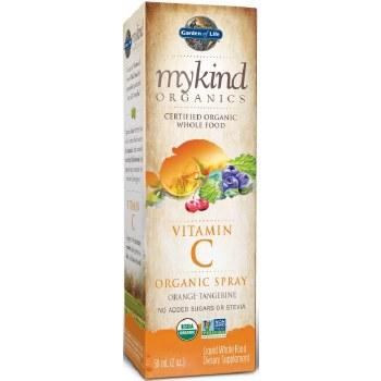 Garden of Life Mykind Organics Vitamin C Orange-Tangerine Spray, 2 oz.