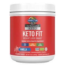 Garden of Life Keto Fit Vanilla Shake, 12.52 oz.