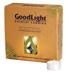 GoodLight Natural Candles Tea Lights Candle, 48 ct.
