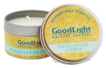 GoodLight Natural Candles Fig Eucalyptus Citrus Candle, 2 oz.