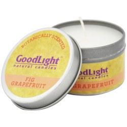 GoodLight Natural Candles Fig Grapefruit Candle, 2 oz.