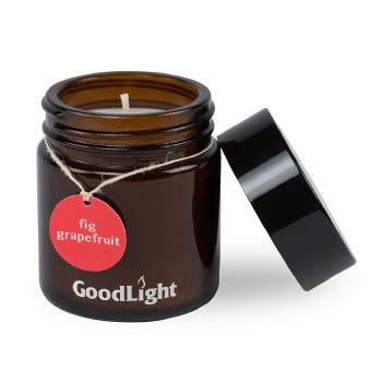 Goodlight Natural Candles Fig Grapefruit Apothecary Candle