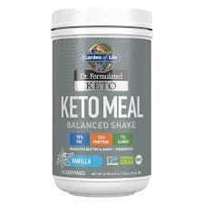 Garden of Life Keto Meal Vanilla Shake, 23.7 oz.