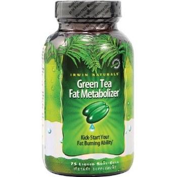 Irwin Naturals Green Tea Fat Metabolizer, 75 liquid soft gels