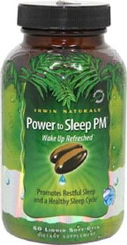 Irwin Naturals Power to Sleep PM, 60 soft gels