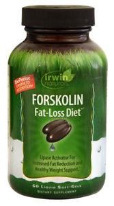 Irwin Naturals Forskolin Fat-Loss Diet, 60 liquid soft gels