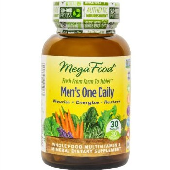 MegaFood Men's One Daily, 30 tablets
