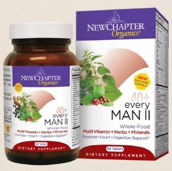 New Chapter 40+ Every Man II Multivitamin, 48 tablets