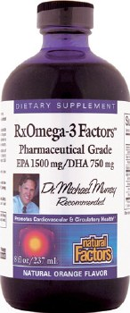 Natural Factors RxOmega-3 Factors, 8 oz.