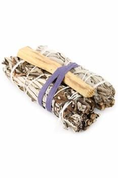 Prabhuji Gifts Three Piece Smudging Kit