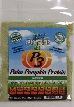 Raw Power P3 Paleo Pumpkin Protein Vanilla Flavor, 1.4 oz.