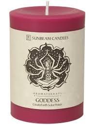 """Sunbeam Goddess Pillar, 3""""x4"""""""