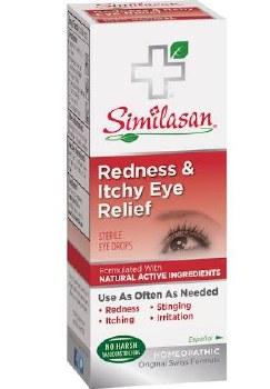 Samilasan Red Itchy Eye Drops, 10 ml.