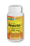 Solaray Reacta-C with Bioflavinois, 60 vegetarian capsules