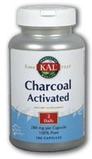 KAL Charcoal 260 mg 100 capsules