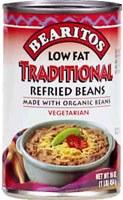 Little Bear Low Fat Organic Refried Beans 16 oz
