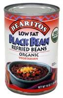 Little Bear Low Fat Organic Black Bean Refried Beans 16 oz