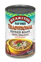 Little Bear Fat Free Organic Refried Beans 16 oz