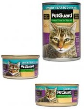 Pet Guard Savory Seafood Dinner Cat Canned Food 3 oz