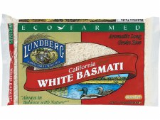 Lundberg Eco Farmed White Basmati Rice, 2 lb.