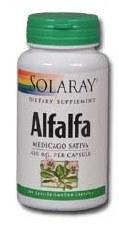 Solaray Alfalfa 490g 100 capsules