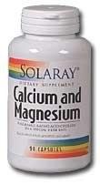 Solaray Calcium Magnesium Amino Acid Chelates 90 capsules