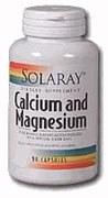 Solaray Calcium Magnesium 1000 mg 180 capsules