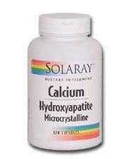 Solaray Calcium Hydroxyapalite 250 mg 120 capsules