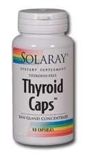 Solaray Thyroid Caps 60 capsules