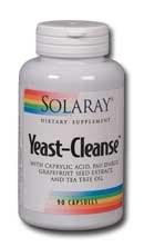 Solaray Yeast Cleanse 90 capsules