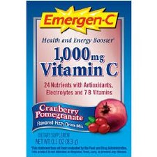 Alacer Cranberry Pomegranate Emergen-C, 30 packets
