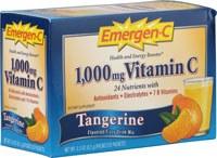 Alacer Tangerine Emergen-C, 30 packets