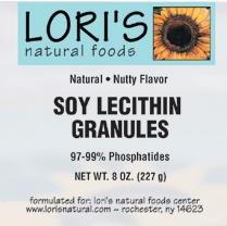 Lori's Soy Lecithin Grandules 8 oz