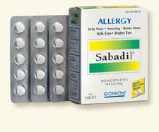 Boiron Sabadil Allergy, 60 tablets
