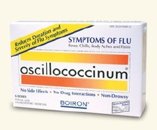 Boiron Oscillococcium Flu Cold, 6 doses