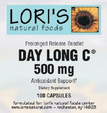 Lori's Day Long C 500mg 100 tablets