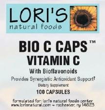 Lori's Bio C Complete with Bioflavonoids 100 capsules